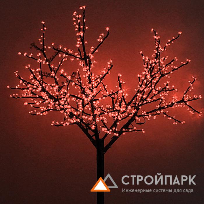 Светодиодная дерево сакура своими руками